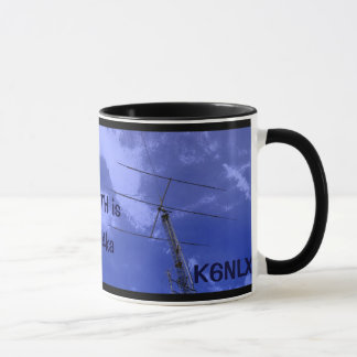 Amateur Radio QTH and Callsign Mug