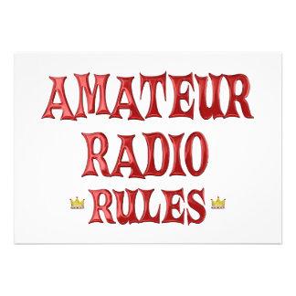 Amateur Radio Rules Invitation