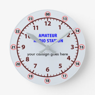 Amateur Radio Station clock
