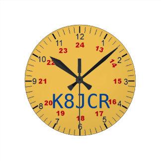 Amateur Radio station clock attractive functional