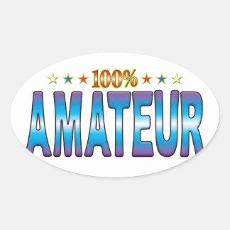 Amateur Star Tag v2 Sticker