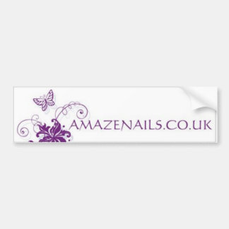 Amaze Nails Bumper Sticker