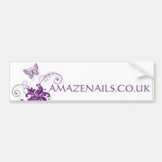 Amaze Nails Bumper Sticker