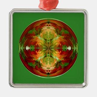 Amazed globe christmas ornament