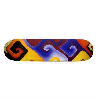 aMAZEing 20.6 Cm Skateboard Deck