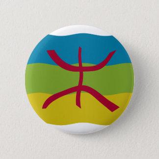 Amazigh Flag 6 Cm Round Badge