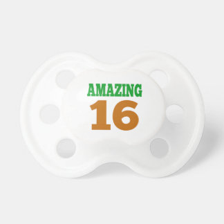 Amazing 16 BooginHead pacifier