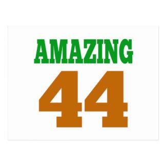 Amazing 44 post card
