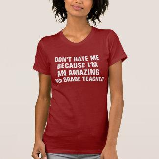 Amazing 4th grade teacher tshirts