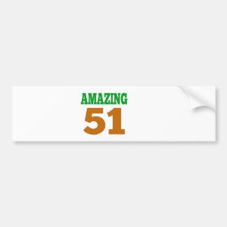 Amazing 51 bumper stickers
