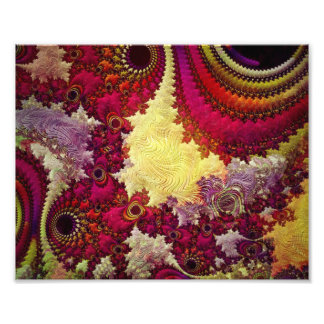 amazing Abstract fractal geometry Photo Print