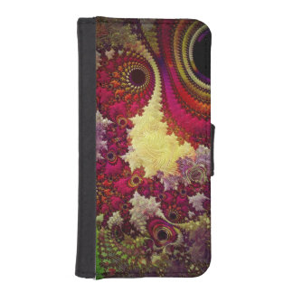amazing Abstract fractal geometry Phone Wallets