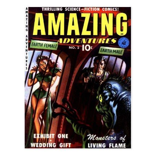 Amazing Adventures 2 Post Cards