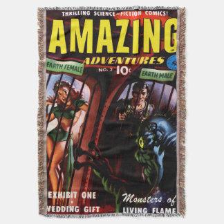 Amazing Adventures #2 Retro Sci Fi Comic Book