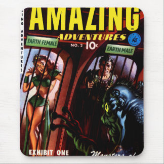 Amazing Adventures #2 Retro Sci Fi Comic Book Mouse Mat