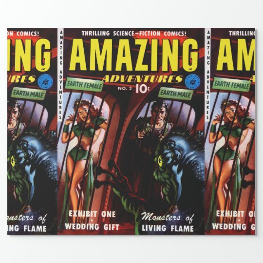 Amazing Adventures #2 Retro Sci Fi Comic Book