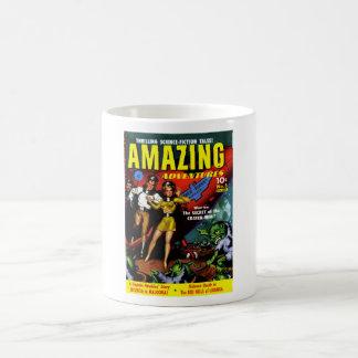 Amazing Adventures - The Secret of the Crater-Men Basic White Mug