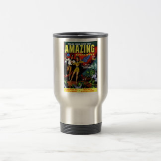 Amazing Adventures - The Secret of the Crater-Men Stainless Steel Travel Mug