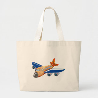 Amazing Airplane Large Tote Bag