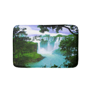 Amazing Amazon Tropical Waterfall Bath Mat