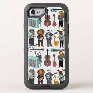 Amazing Animal Alphabet Band - Boy / Andrea Lauren OtterBox Defender iPhone 7 Case