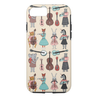 Amazing Animal Alphabet Band - Girl /Andrea Lauren iPhone 7 Case