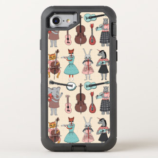 Amazing Animal Alphabet Band - Girl /Andrea Lauren OtterBox Defender iPhone 7 Case