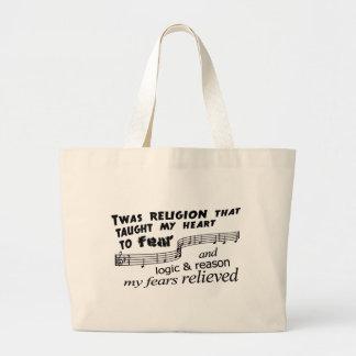 Amazing Atheism Canvas Bag