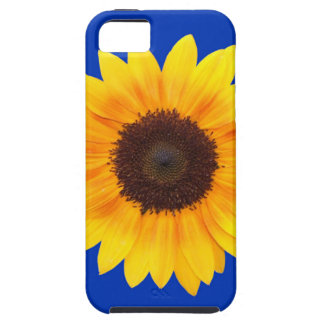 Amazing Autumn Beauty Sunflower Tough iPhone 5 Case