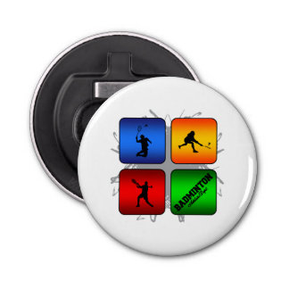 Amazing Badminton Urban Style Bottle Opener