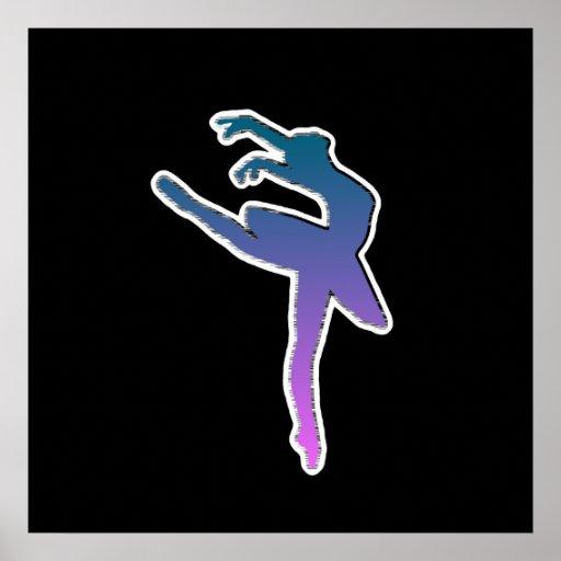 Amazing Ballerina Graphic Poster