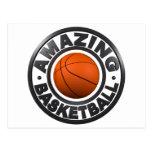 Amazing Basketball Postcard