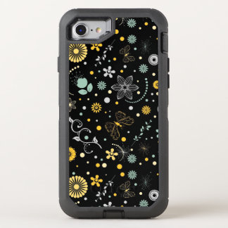 amazing black abstract OtterBox defender iPhone 7 case
