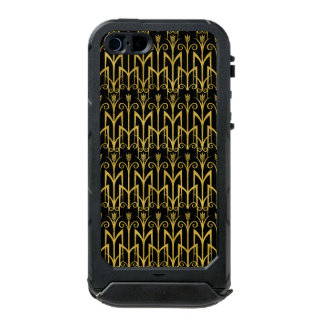 Amazing Black-Gold Art Deco Design Incipio ATLAS ID™ iPhone 5 Case