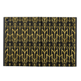 Amazing Black-Gold Art Deco Design iPad Air Case