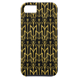 Amazing Black-Gold Art Deco Design iPhone 5 Case