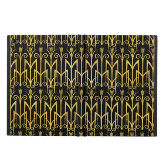 Amazing Black-Gold Art Deco Design Powis iPad Air 2 Case
