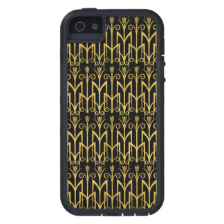 Amazing Black-Gold Art Deco Design Tough Xtreme iPhone 5 Case