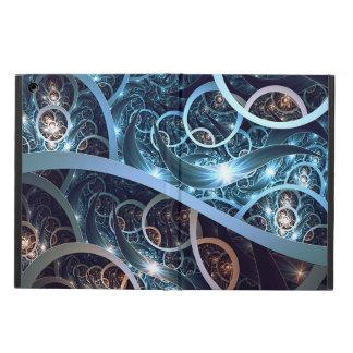 Amazing Blue Fractal Art iPad Air Cover