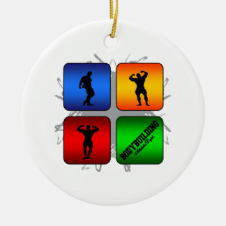 Amazing Bodybuilding Urban Style Christmas Ornament