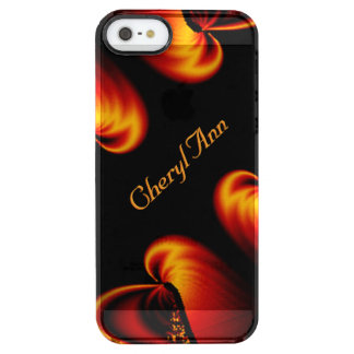 Amazing Bronze Beauty Personal Name Clear iPhone SE/5/5s Case
