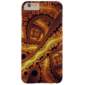 Amazing Brown Abstract Fractal Art Barely There iPhone 6 Plus Case