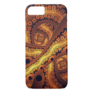 Amazing Brown Abstract Fractal Art iPhone 8/7 Case