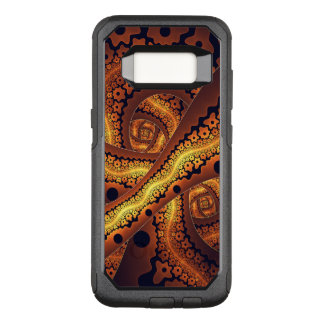 Amazing Brown Abstract Fractal Art OtterBox Commuter Samsung Galaxy S8 Case