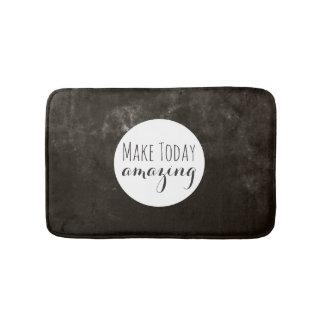 Amazing | Brown Texture Bath Mat