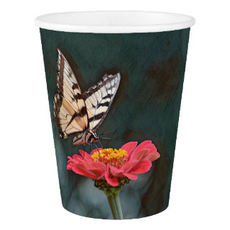 Amazing Butterfly Paper Cup