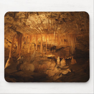 Amazing Cave With Needles Mouse Pad