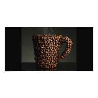 Amazing coffee photo-3 personalised photo card