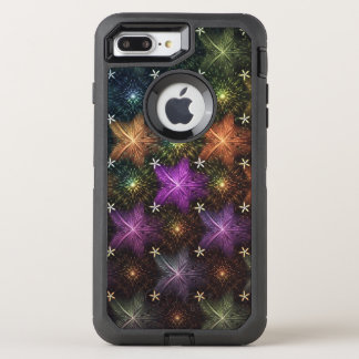 amazing colored stars OtterBox defender iPhone 8 plus/7 plus case