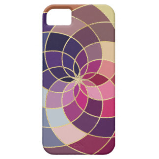Amazing Colorful Abstract Design Barely There iPhone 5 Case